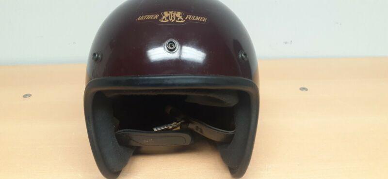 Vintage Arthur Fulmar Eagle AF 40 Motorcycle helmet 7 5/8 Large