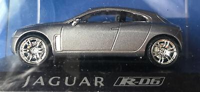 1:43 UNKNOWN MAKER JAGUAR R-D6 SILVER DIECAST CAR MINT NEVER DISPLAYED