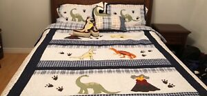Dinasour boys bedding double/queen bedding