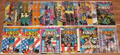 1983-1986 AMERICAN FLAGG! FIRST COMICS #1-32, LOT OF 29