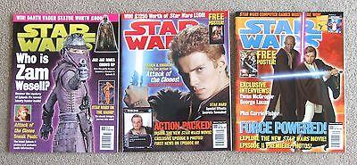 Star Wars Official magazines Titan Comics. Zam Wesell, Princess Leia