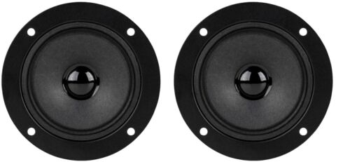 """NEW Pair 4"""" Inch Classic Paper Tweeter Vintage replacement 8 Ohm Hi-Fi"""