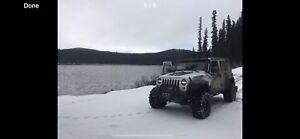 Sweet deal! 2014 jeep wrangler jk