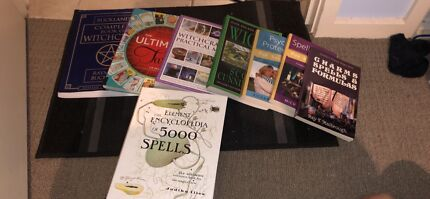 Witchcraft and tarot reading books ( Wiccan , Pagan)
