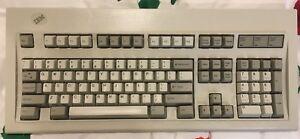 IBM Model-M Mechanical Keyboard 1391401 clicky buckling springs