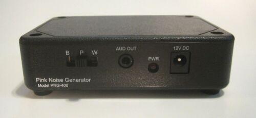 Genuine True-Random Analog White Pink Brown Noise Generator with Wall Adapter
