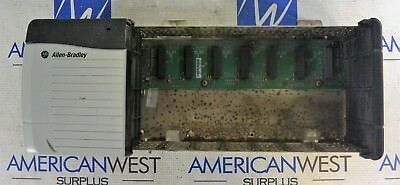 1756-a7 B Allen Bradley 7 Slot Controllogix Rack With 1756-pa72b Power Supply