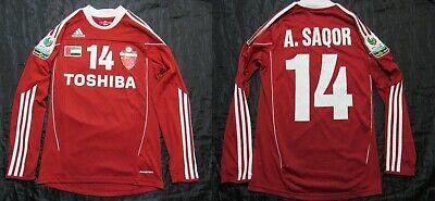 Adil Saqor Al Ahli Club Dubai LONG SLEEVE Match Issue shirt jersey ADIDAS men S image