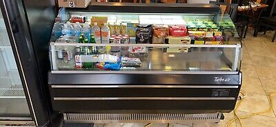 Turbo Air 60 Horizontal Refrigerated Display Merchandiser Case Led