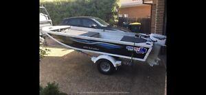 Quintrex 370 traveller Aluminium tinny boat