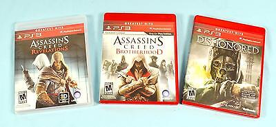 PS3 PlayStation 3 Video Games Dishonored, Assassin
