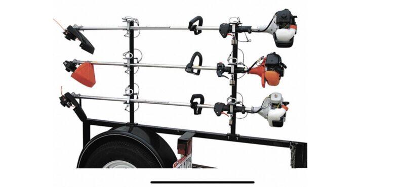 Lockable Trimmer Rack, 100 lb