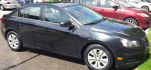 2013 Chevrolet Cruze LT BLACK Sedan