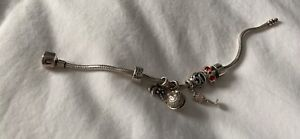 Chamilla bracelet and charms