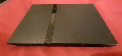 Sony PlayStation 2 Slim Black Console Only PS2 System SCPH-70001 No Cords
