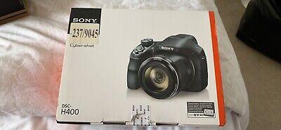 Sony Cyber-shot DSC-H400 20.1MP Digital Camera - Black £350rrp