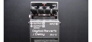Boss RV-3 reverb/delay