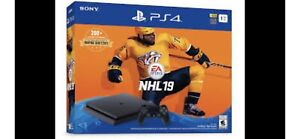 PS4 1TB NHL 19 Bundle brand new condition + extras
