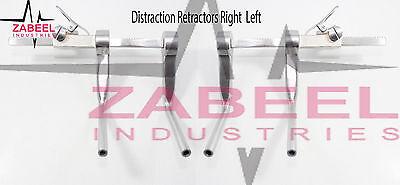 Distraction Retractors Right Left 2 Pcs Set Veterinary Orthopedic Instrument
