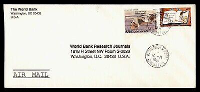 DR WHO 1991 BURKINA FASO OUAGADOUGOU AIRMAIL TO USA  g19907