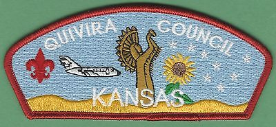 QUIVIRA COUNCIL 198 KANSAS BOY SCOUT CSP PATCH S22A