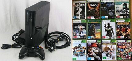 Xbox 360 Console 320gb, 12 Games, Excellent Condition.
