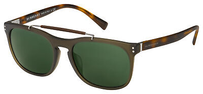 Burberry Sunglasses BE 4244F 361671 56 Havana Frame | Green (Burberry Men Sunglasses)