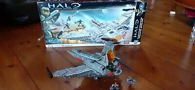 Mega Bloks Halo UNSC Shortsword96835 authentic collector's series+ instructions segunda mano  Embacar hacia Mexico