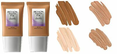 Revlon Youth Fx Fill + Blur Foundation SPF 20 Broad Spectrum 1 fl oz - Pack of 2