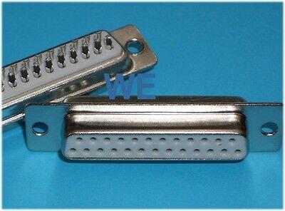 10 Stück Sub-D-Buchse 25-polig Lötkelch / SUBD Kupplung