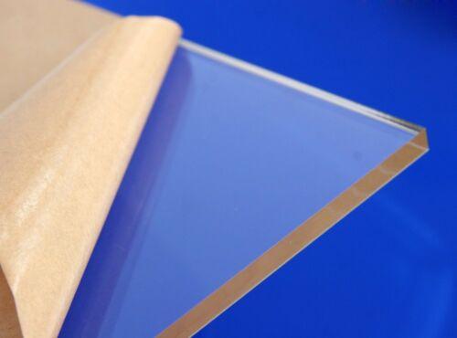 "Acrylic Plexiglass Clear Plastic Sheet 1/4"" x 24"" x 48"" Water Resistant"
