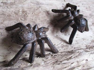 Gartendeko Spider Tarantel 8 cm Gartenteich Spinne Dekorativ (Spinne Dekoration)