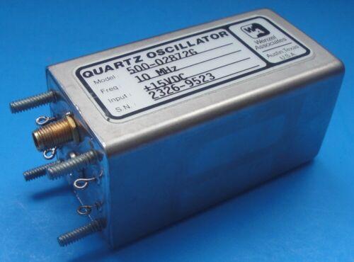 Wenzel 10 MHz +15VDC Quartz Oscillator OCXO – 500-02872G