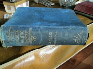 The Preacher's Homiletical Commentary, Genesis, 1892 -REDUCED