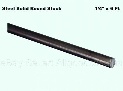 Steel Solid Round Stock 14 X 6 Ft Unpolished Cold Finish Rod Alloy 1018