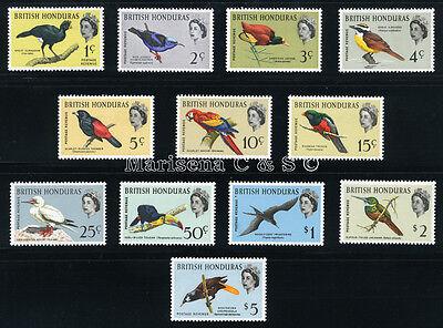 BR. HONDURAS 1962 SG 202-213 SC 167-178 VF OG MLH * RARE COMPLETE SET 12 STAMP