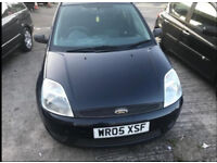 Ford Fiesta Black 1.25 Zetec 5-dr 12 MONTHS MOT only 80K £850
