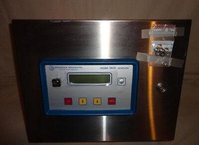 Orbisphere 3600330.e Analyzer Model 3600 115 Vac 5060hz 3600330 E New