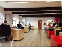 5x Desk Spaces By the River – Location: City Centre, Just off Victoria Street, BS1
