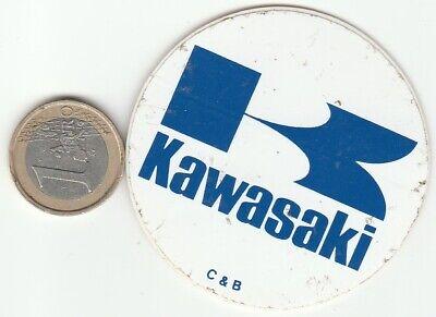 AUTOCOLLANTS . Moto KAWASAKI - Oldies - Vintage