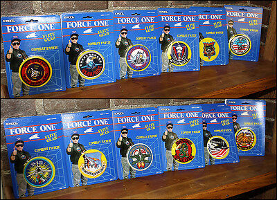 Ertl Flite Gear Combat Patch - Set Of 12 Complete In Package