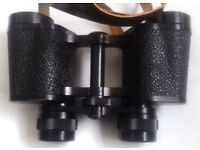 Super Carl Zeiss Jena 8 x 30 W DDR Field Glasses with central focusing
