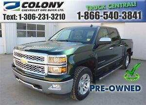 2014 Chevrolet Silverado 1500 5'8 Box, 1LZ Crew Cab, Leather, PS