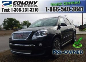2012 GMC Acadia Denali AWD, Leather, Sunroof, PST PAID