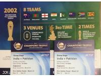 India v Pakistan ICC Champions Trophy Tickets