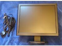 """17"""" CCTV monitor BNC, HDMI, VGA inputs"""
