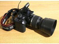 CANON EOS 550D VIDEO RECORDING DIGITAL SLR CAMERA W/ 18-55 EF-S IS LENS