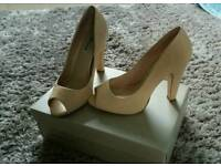Dune heels size 5 ladies