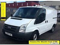 SALE SALE!! Ford Transit Van 2.2 300-1 Owner-EX BT, 50 K Miles ,FSH -8 Stamps, 1YR MOT,Elec Windows