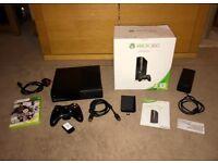**Xbox 360 E Slim - 250GB - Boxed - Wireless Controller - VGC**